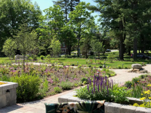 garden in park trout lily garden design bedford hills ny